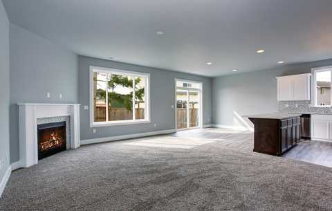 Domestic Carpet - Open Plan Living Room
