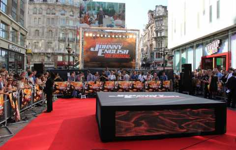 Johnny English Red Carpet - Specialist bespoke red carpets