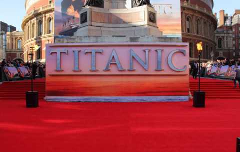 Titanic Red Carpet - Specialist bespoke red carpets