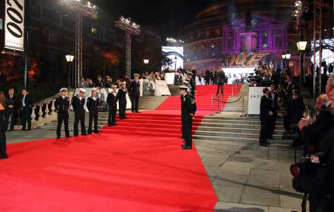 Skyfall Red Carpet - Specialist bespoke red carpets
