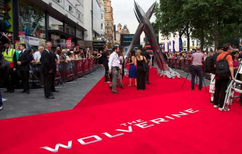 The Wolverine Red Carpet - Specialist bespoke red carpets