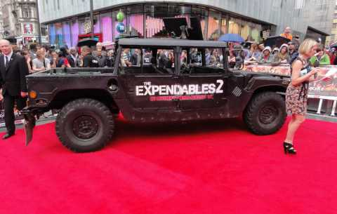 The Expendables 2 - Specialist Bespoke Red Carpets
